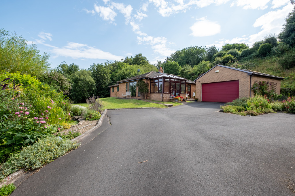 Bank House is a four bedroom detached bungalow with versatile and well proportioned accommodation, situated on a substantial plot with far reaching views over Hexham and beyond.