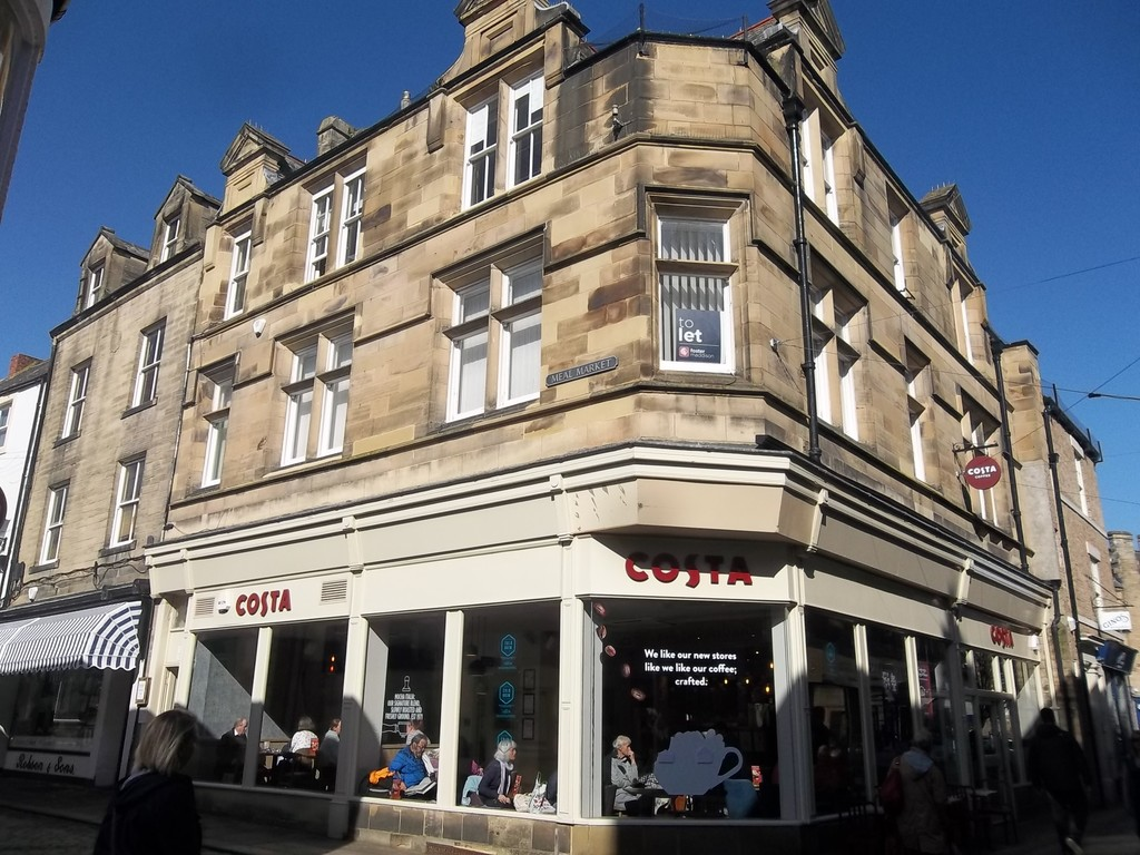 First & Second floor offices in a prominent location in the market town of Hexham