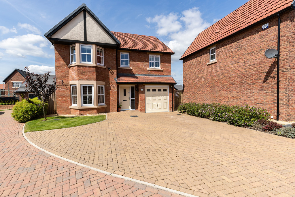 A simply stunning four bedroom home, presented to a high standard throughout, built by Story Homes.