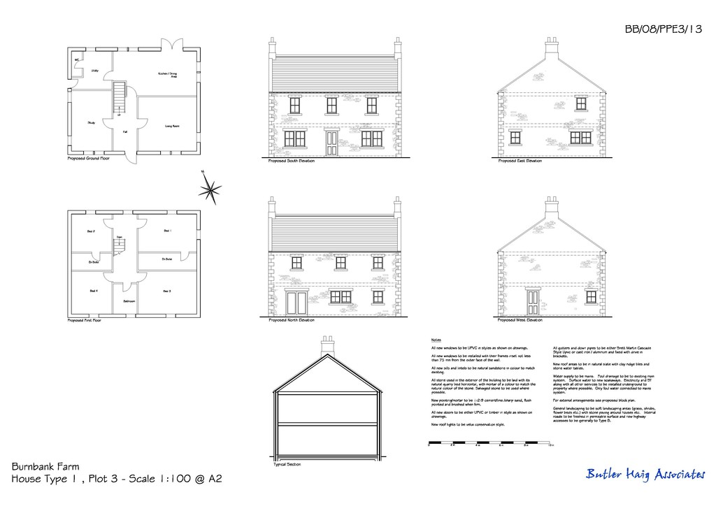 Plot for sale in Greenhaugh, Hexham  - Property Image 4