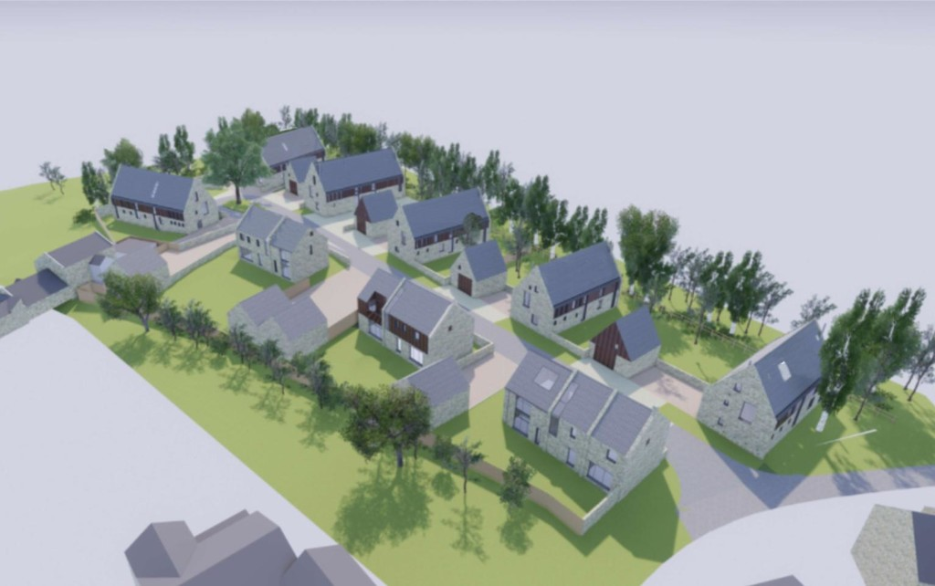 COMING SOON Bluebell Rise is a luxury residential development of 9 individually designed customisable homes, situated within the idyllic village of Great Whittington, Northumberland.