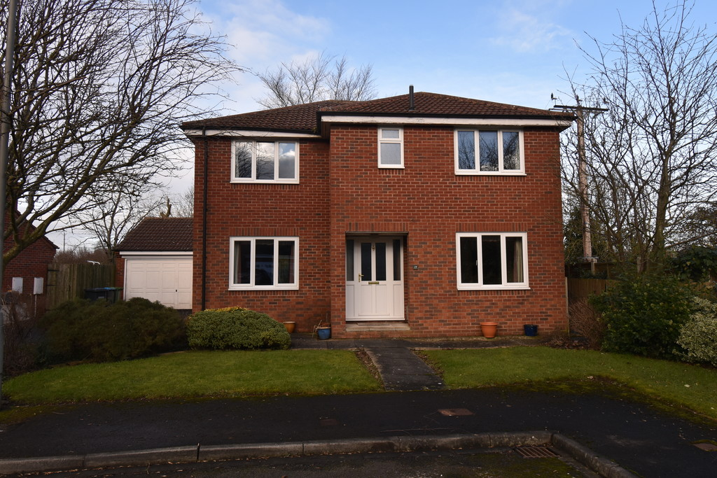 An attractive, well situated Detached Family House in this quiet cul de sac close to open countryside on the fringe of Romanby.The accommodation which would benefit from some updating is well-proportioned throughout and includes 4 bedrooms, En Suite, Sitting Room, Dining Room & Breakfast Kitchen. DG, Gas CH upvc DG.