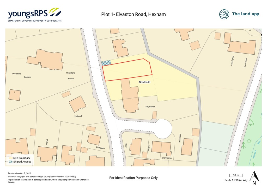 An exciting development opportunity for the construction of a detached four bedroom family home with integral garage located in the popular Elvaston area of Hexham.