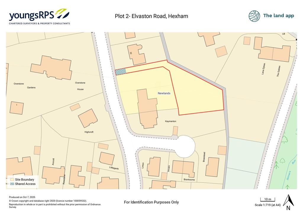 Plot for sale in Elvaston Road, Hexham  - Property Image 1