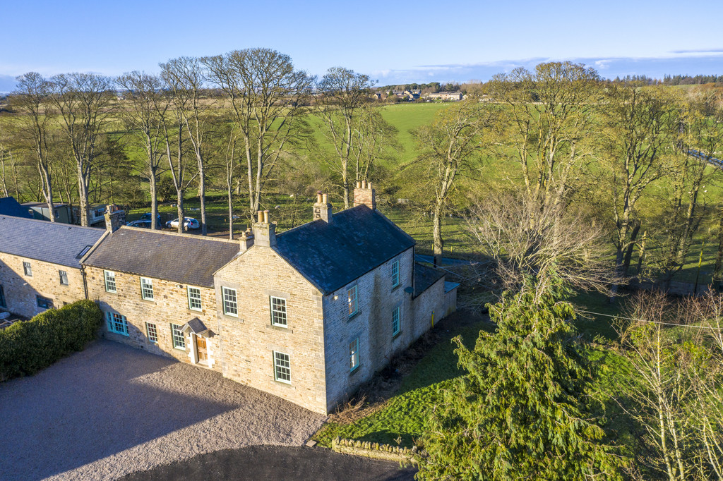 Breckon Hill House is a fully renovated beautiful stone built Grade II listed farmhouse enjoying an idyllic countryside setting on the outskirts of Hexham with land and grounds extending to approximately 3 acres and fabulous countryside views.