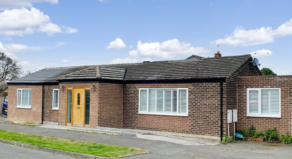Four bedroom semi-detached bungalow pleasantly situated within the popular village of Riding Mill.