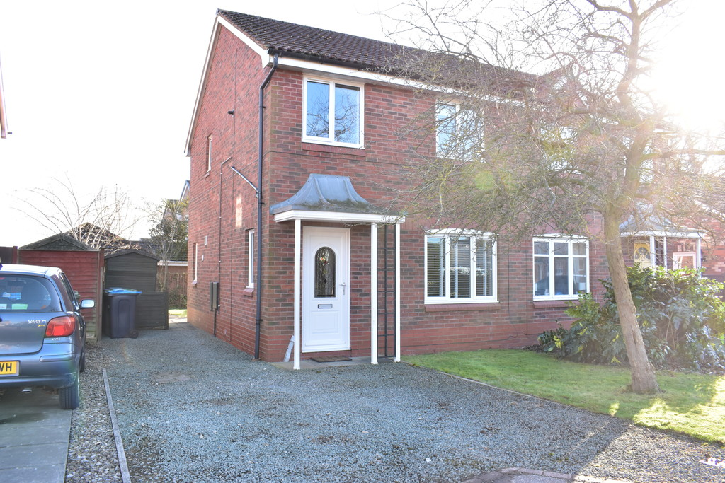 3 bed semi-detached house to rent in Badger Hill Drive, Bedale  - Property Image 1