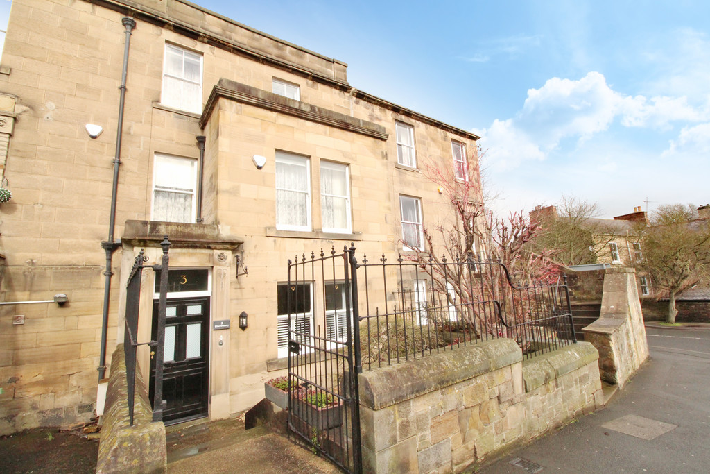 Impressive four bedroom Grade II listed terraced property, full of character and charm, conveniently located close to the centre of the popular market town of Hexham.