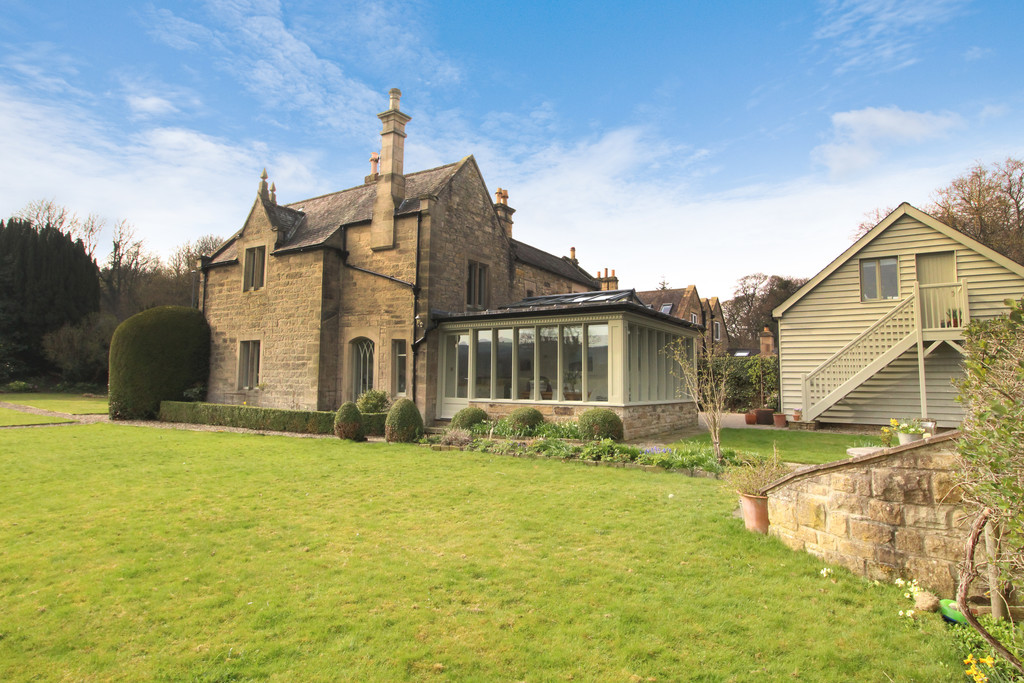 The Glebe is an impressive period property with separate annex, set within fantastic gardens offering privacy and seclusion on the edge of the popular village of Stocksfield.