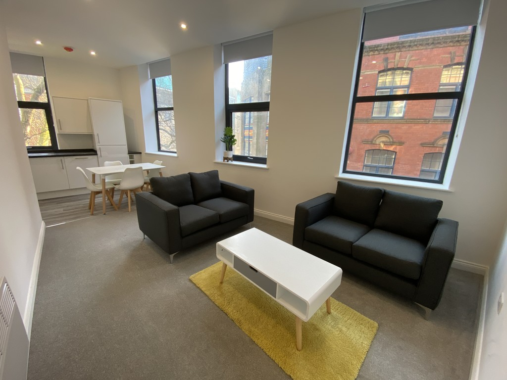BRAND NEW fully furnished Two Bedroom Apartments with generous living space in a city centre location. Accommodation comprises an open plan Kitchen/Living/Dining Area, Two Bedrooms, one with Ensuite and Bathroom. Integrated appliances are included as well as a new SMART TV and furniture. AVAILABLE IMMEDIATELY.