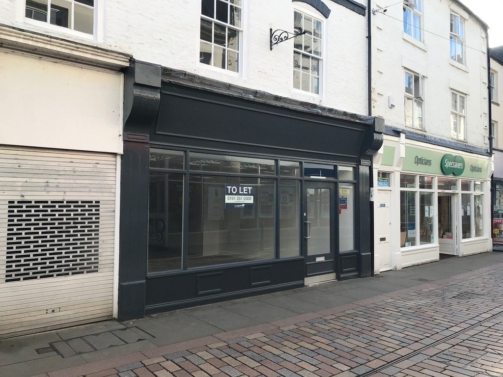 Ground floor retail unit in the prominent town centre of Hexham