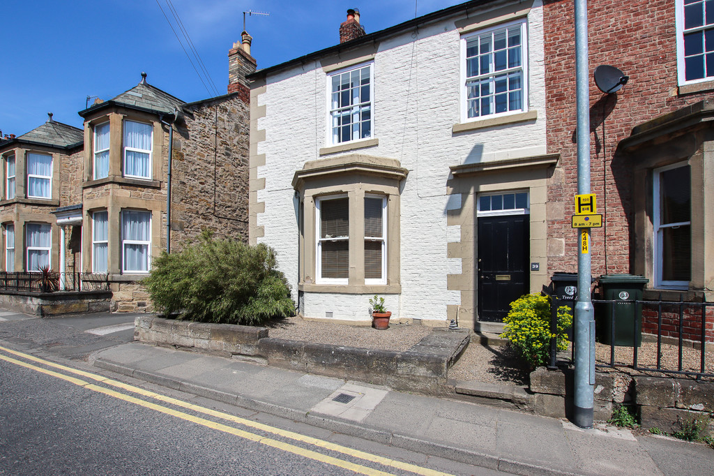 A Grade II listed, four bedroom property with large rear garden pleasantly situated close to the centre of the popular market town of Hexham. This substantial family home is immaculately presented and offers spacious accommodation over three floors.