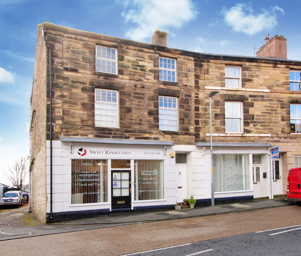 A fully let commercial/residential investment with a large 3 bedroom maisonette above.  Offers around £145,000.