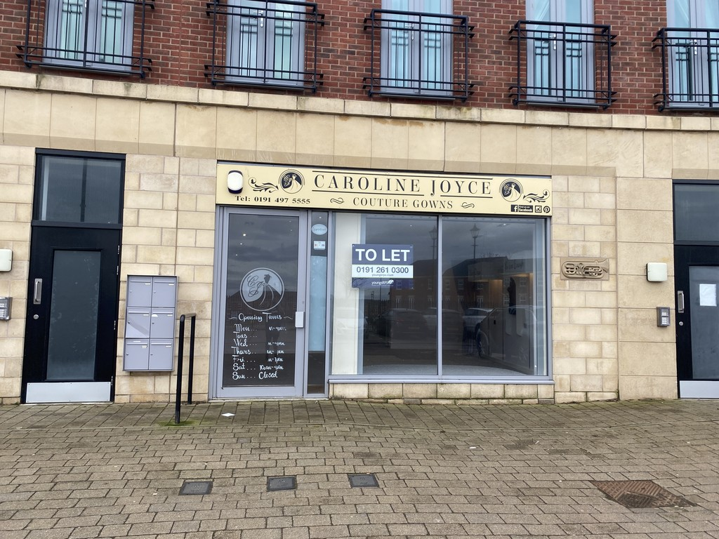 Ground floor retail unit. Internal electric roller shutters. Flexible lease terms Free car parking. Rent £12,795 per annum