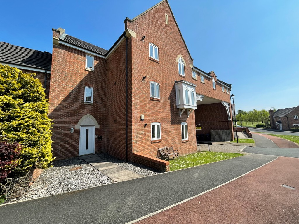 **AVAILIBLE NOW**A modern three bedroom apartment which is situated within this popular development of similar properties, benefitting from two allocated parking bays. Ideally placed for all amenities within Sedgefield and ideal for commuting purposes.Viewing by appointment only.