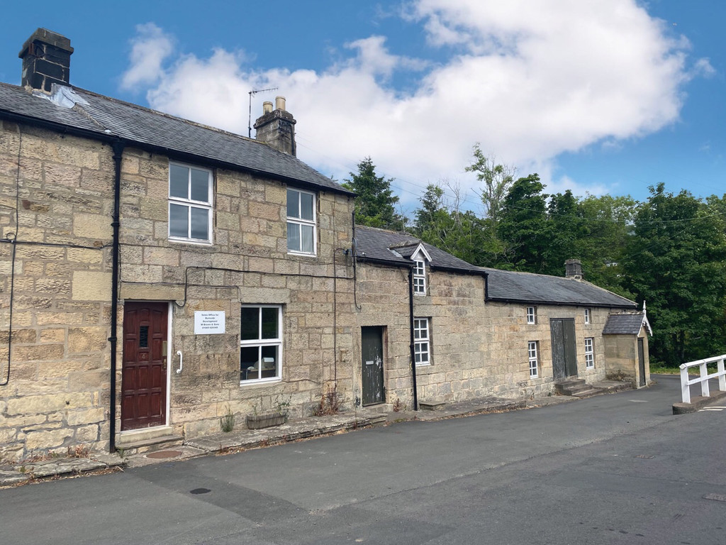 Investment opportunity to acquire a three-bedroom terrace house with adjoining workshops, situated in the rural village of Thropton.