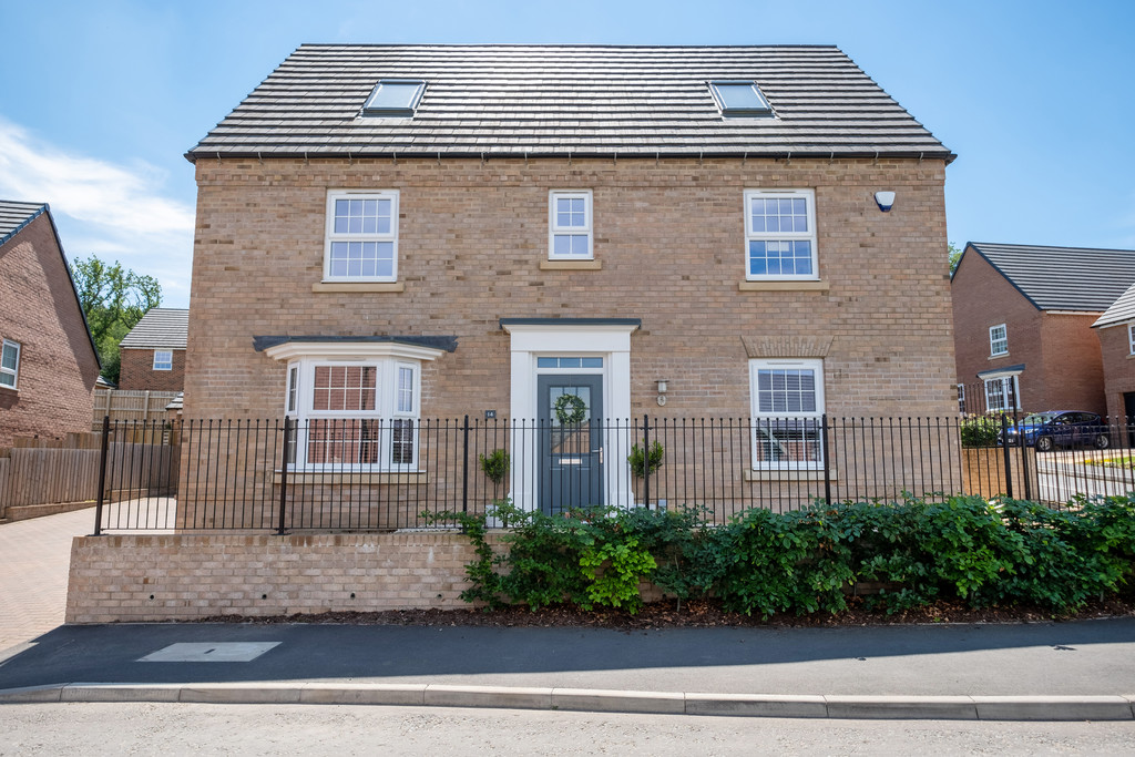 A beautifully presented detached five bedroom property located on a popular development within walking distance of Hexham and all of the facilities and amenities it has to offer. The property offers substantial accommodation over three floors with a detached double garage and gardens.