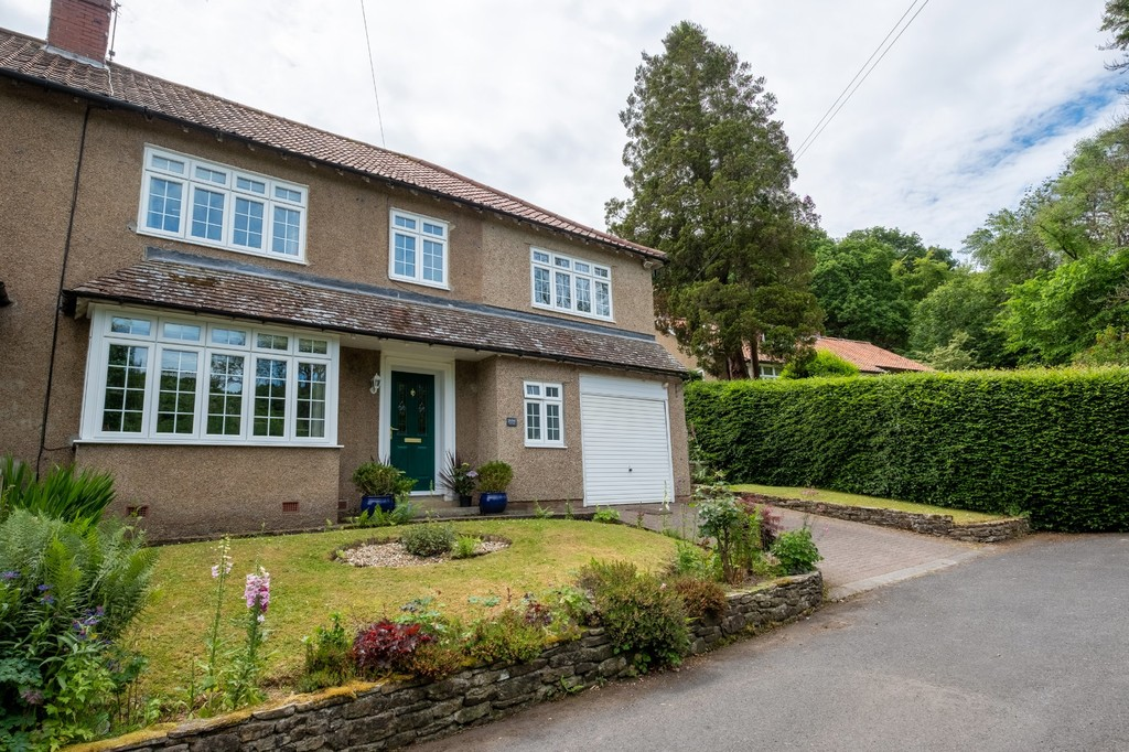 A spacious five bedroom semi detached house with parking and delightful tiered garden located in the desirable village location of Riding Mill.