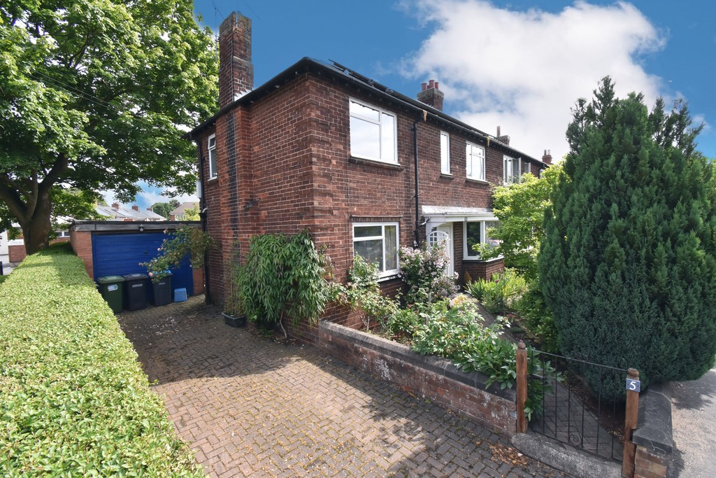 A superb 1930's three bedroom semi-detached house located a on popular road just a short distance from both the town centre and the railway station. This property benefits from off street parking, useful oversized garage and a large mature rear garden.