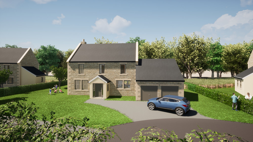 4 bed detached house for sale in Dilston Rise, Corbridge  - Property Image 1