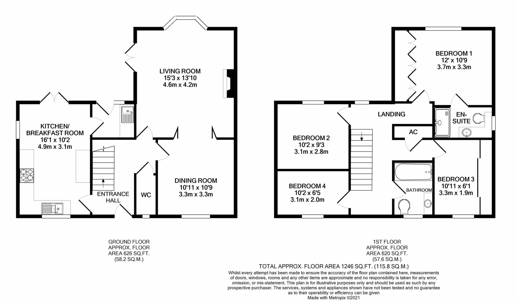 4 bed detached house for sale in Maple Vale, Whatcombe Lane, Winterborne Whitechurch, Blandford Forum - Property Floorplan