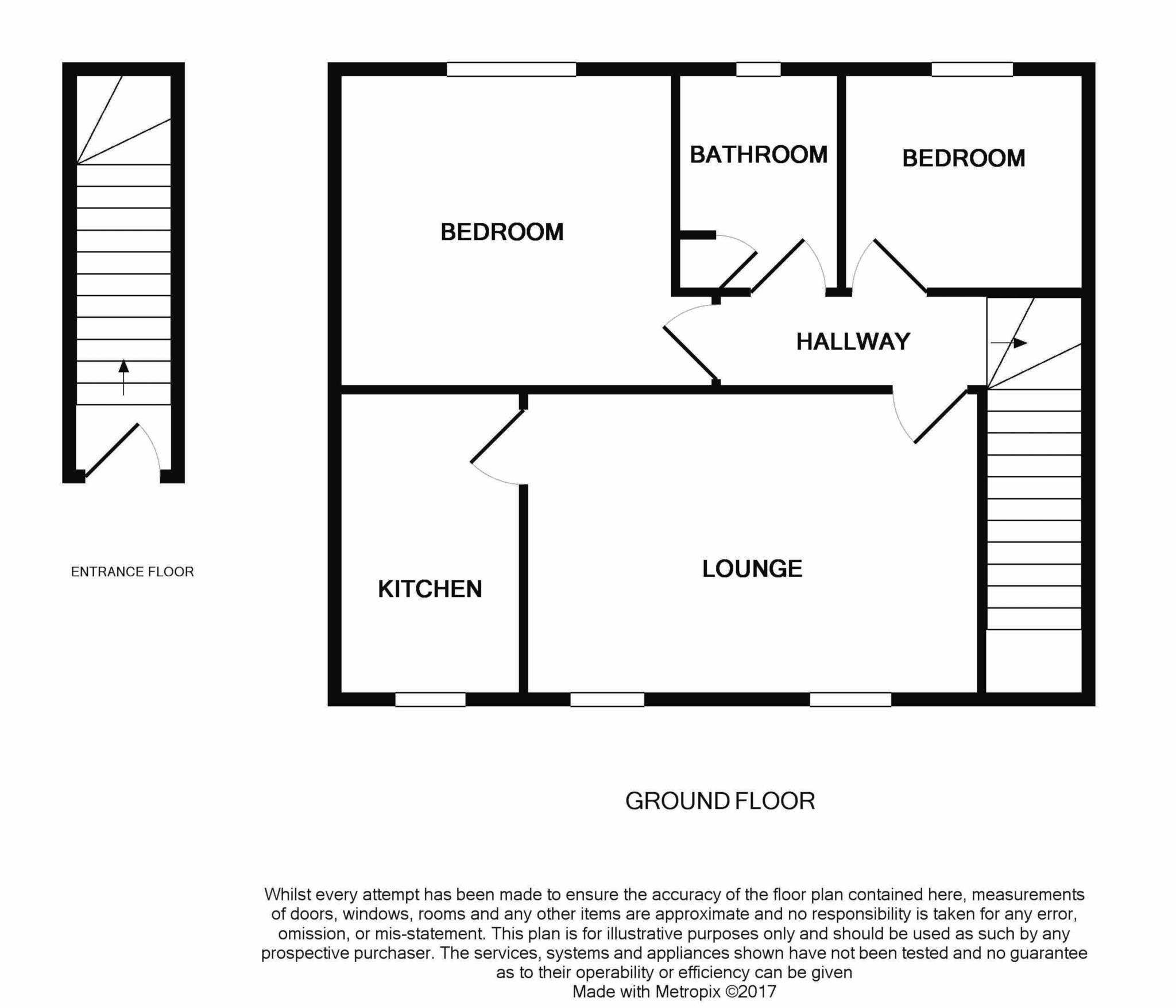 2 bed flat for sale in Dorset Mews, Dorset Street, Blandford Forum - Property Floorplan