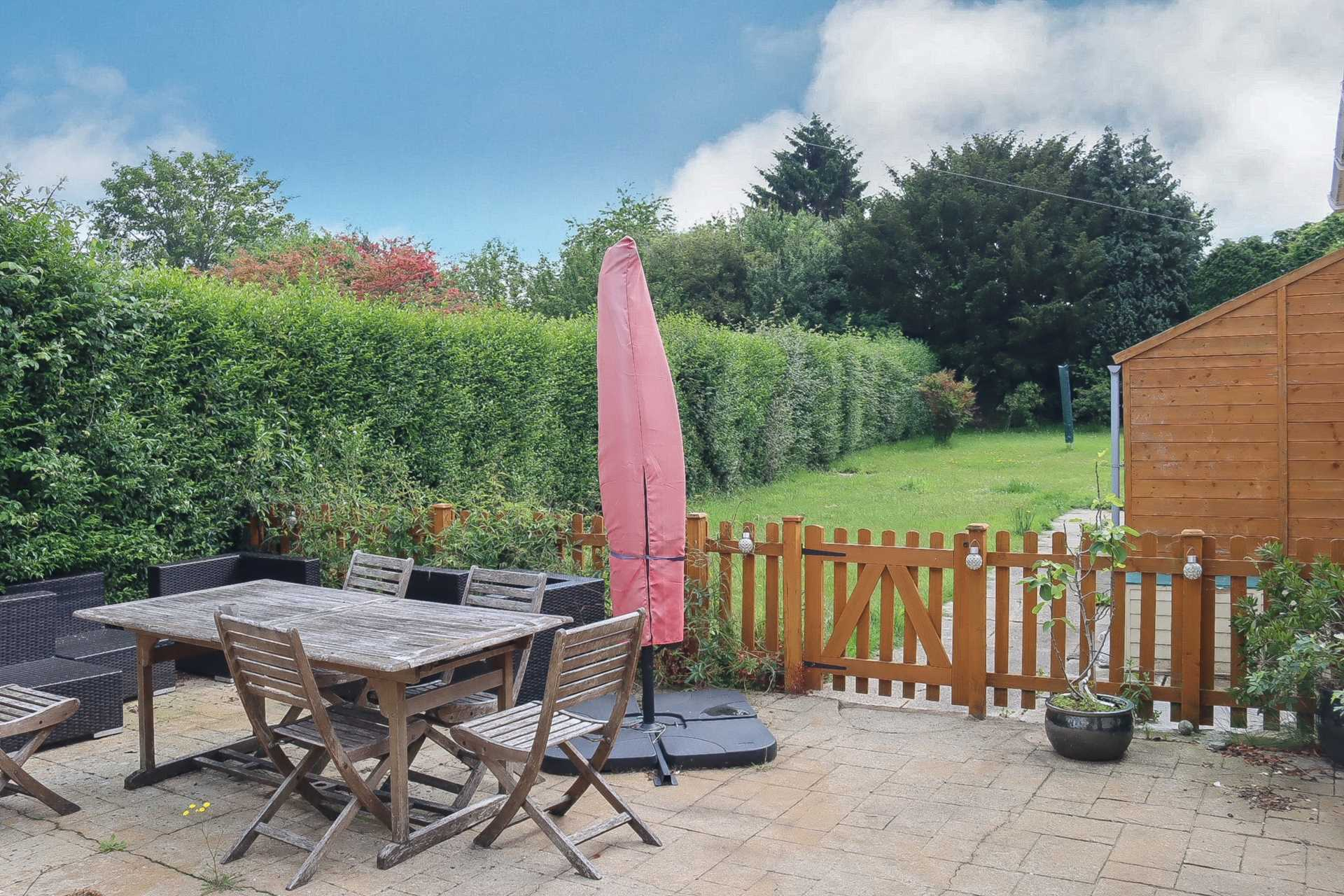 3 bed terraced house for sale in Churchill Close, Sturminster Marshall, Wimborne 3