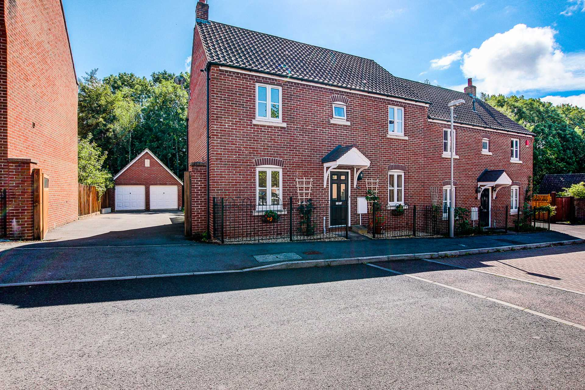4 bed semi-detached house for sale in Westbury Way, Blandford Forum  - Property Image 1