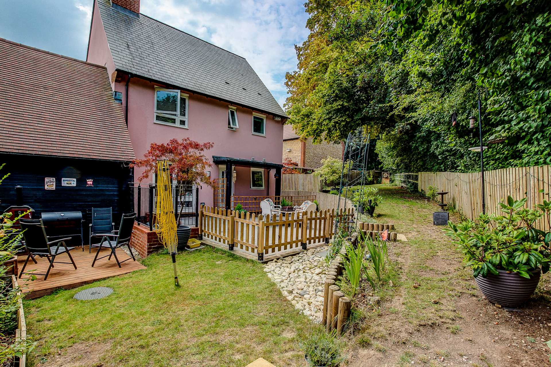 3 bed link detached house for sale in Charlton Mead, Charlton Marshall, Blandford Forum 16