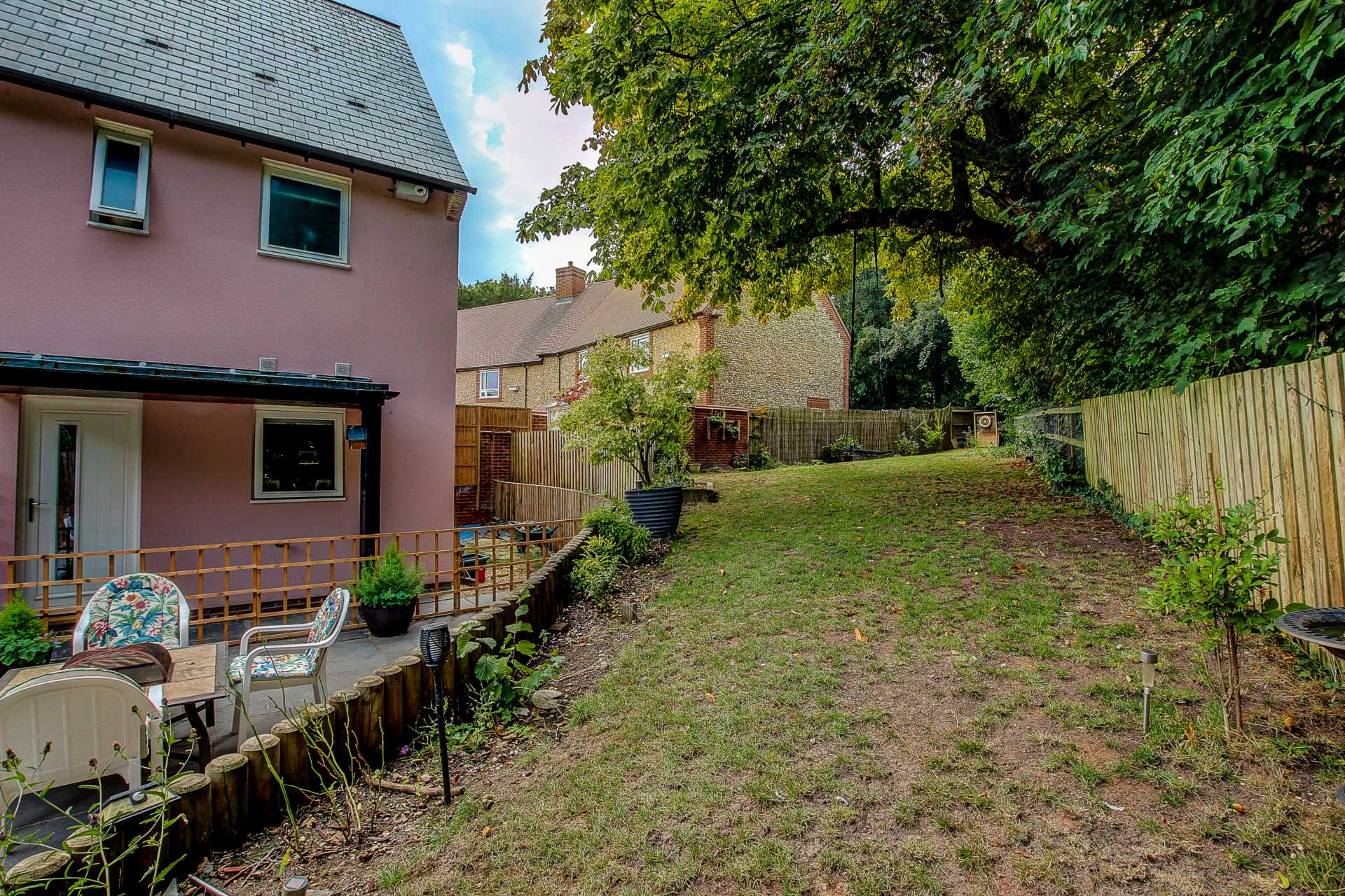 3 bed link detached house for sale in Charlton Mead, Charlton Marshall, Blandford Forum 17