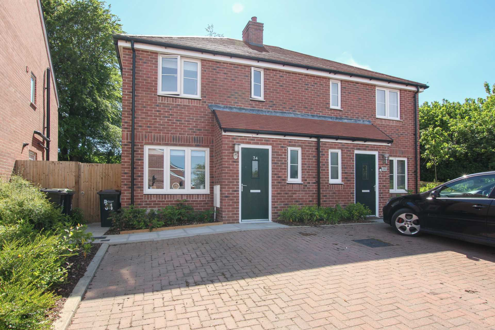 3 bed semi-detached house for sale in Esme Avenue, Blandford St Mary, Blandford Forum 0