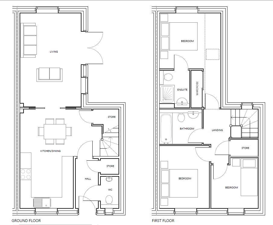 3 bed house for sale in Bluntisham, PE28 3LE - Property Floorplan