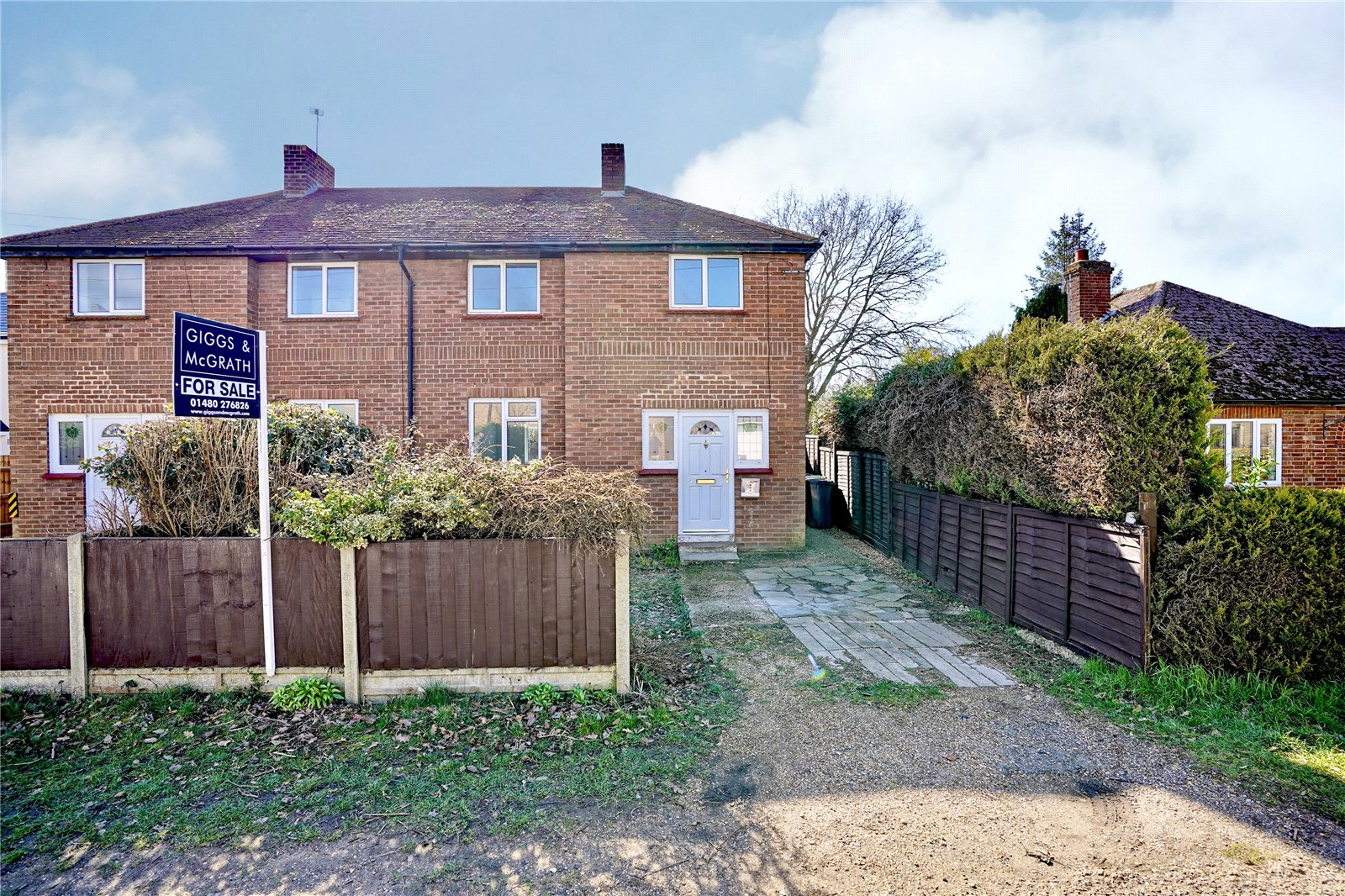 3 bed house for sale in Brampton, PE28 4SD  - Property Image 1