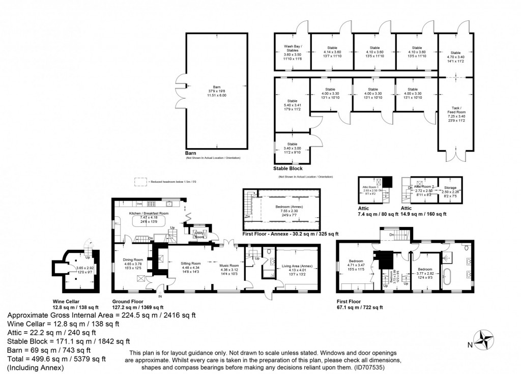 4 bed detached house for sale in Diamond Farm, Coxhill Road, Shepherdswell, Dover - Property Floorplan