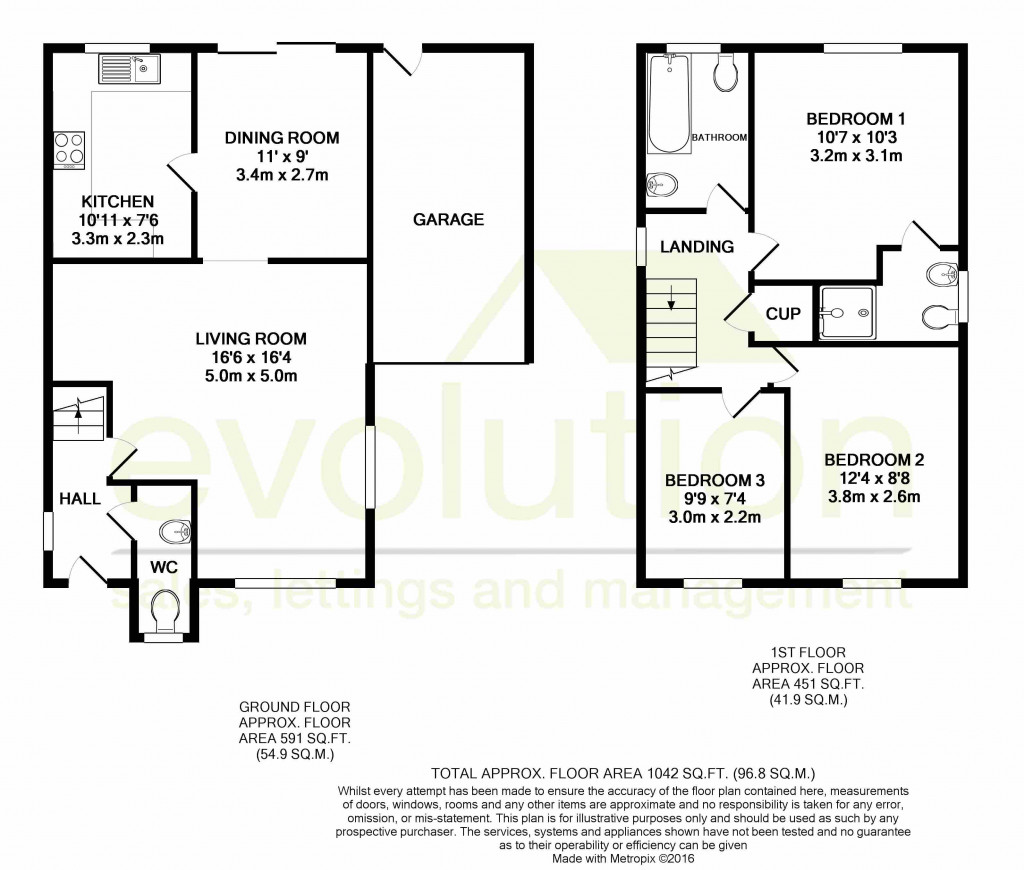 3 bed detached house for sale in Lodge Wood Drive, Orchard Heights, Ashford - Property Floorplan