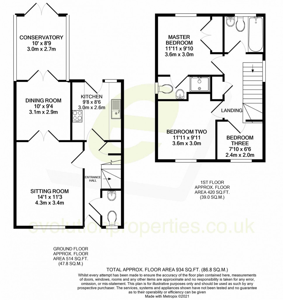 3 bed detached house for sale in Chaffinch Drive, Park Farm, Ashford - Property Floorplan