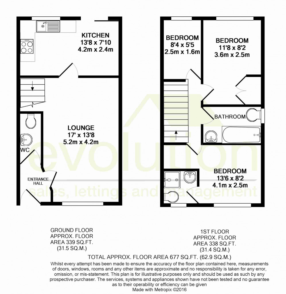 3 bed detached house for sale in Smithy Drive, Kingsnorth, Ashford - Property Floorplan