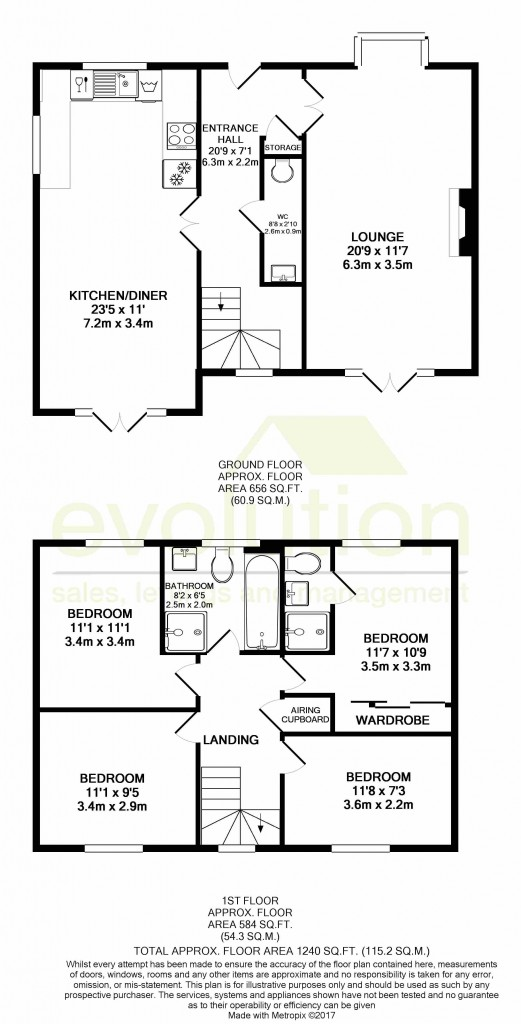 4 bed detached house for sale in Goldfinch Drive, Finberry, Ashford - Property Floorplan