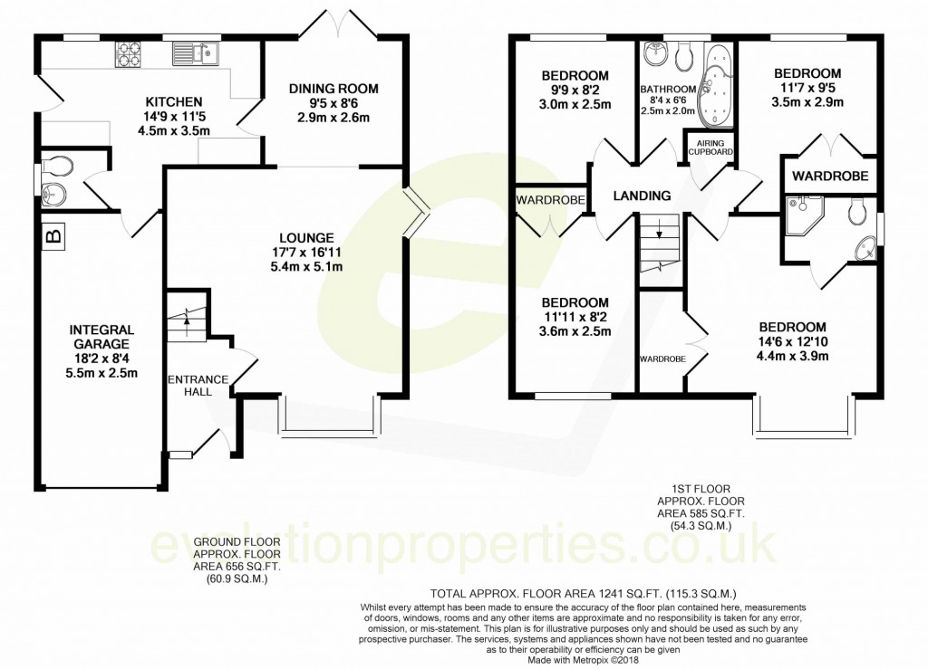 4 bed detached house to rent in Hoppers Way, Singleton, Ashford - Property Floorplan
