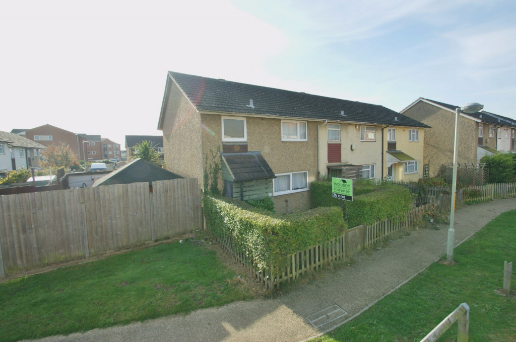 3 bed end of terrace house for sale in Brenchley Close, Ashford - Property Image 1