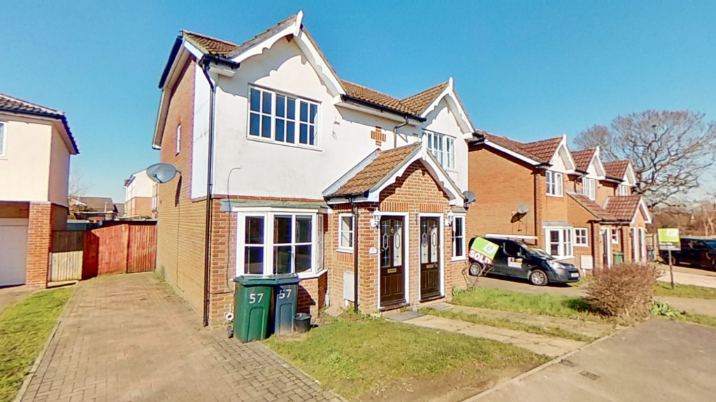 2 bed semi-detached house for sale in Manor House Drive, Ashford 0