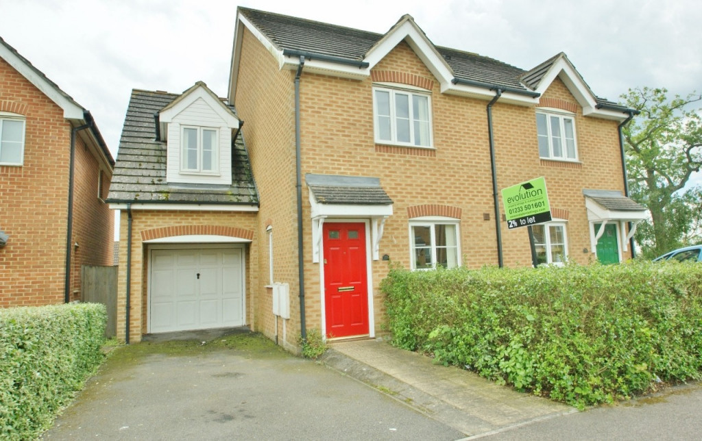 3 bed semi-detached house for sale in Lodge Wood Drive, Ashford 0