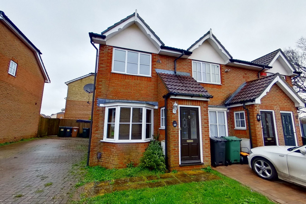 2 bed end of terrace house for sale in Manor House Drive, Kingsnorth, Ashford - Property Image 1