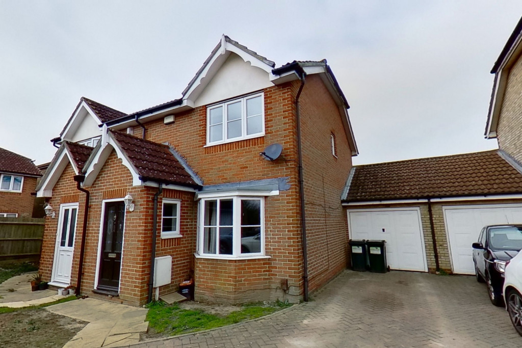 3 bed semi-detached house for sale in Manor House Drive, Kingsnorth, Ashford - Property Image 1