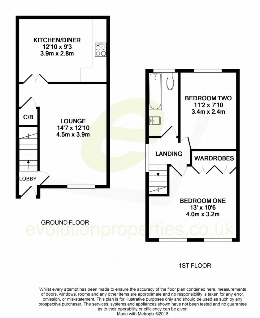 2 bed semi-detached house for sale in Gordon Close, Ashford 10