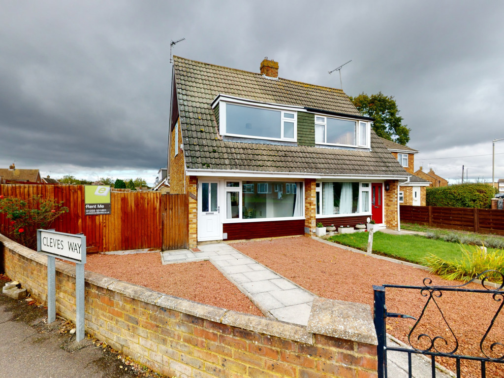 2 bed semi-detached house to rent in Beaver Lane, Ashford 0