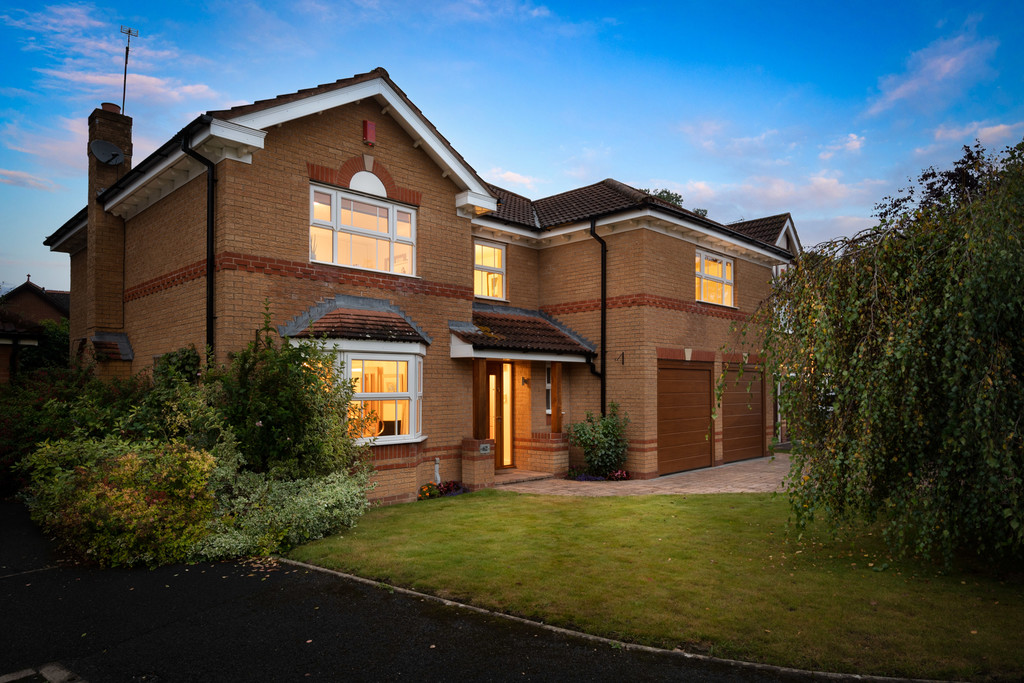 Discover this fantastic, immaculately presented, detached family home in a quiet residential corner of Dorridge – an affluent satellite village within striking distance of Birmingham, Coventry, and Warwick.Built in 1998 by David Wilson Homes, the property's internal layout encourages lounging together in the living room, elegant dinner parties, and relaxed weekend meals in the breakfast kitchen, where a conservatory opens to a beautiful enclosed rear garden... learn more by downloading the brochure below.