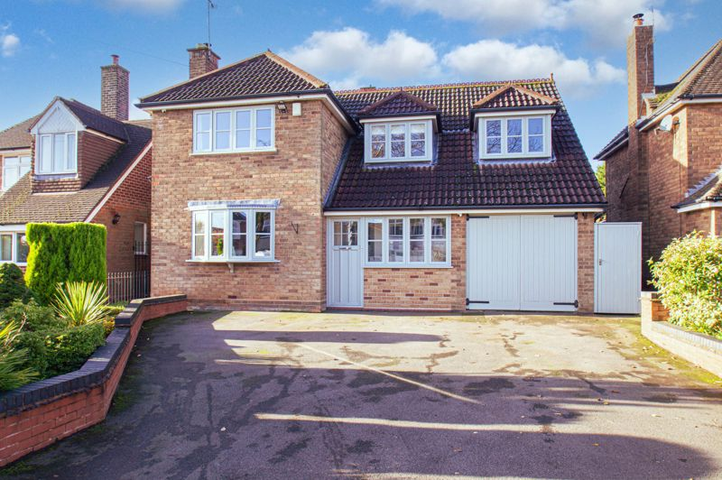 A very well presented and much extended four bedroom detached house.<br/><br/>Comprising: Porch and large hallway. Substantial lounge/diner with inset log burner, bi-fold doors open to the impressive family room, having windows to vaulted ceiling, further bi-fold doors promote the garden views. Archways lead to both a hall with large store cupboards and the utility with sink, plumbing for appliances, integrated freezer and door to the w.c.  The kitchen offers a good range of units, two inset sinks, integrated hob, double oven, microwave, and dishwasher, a door returns to the hall. <br/><br/>Upstairs presents firstly double bedrooms 1 and 2, and a modern bathroom with a separate shower, freestanding bath, toilet and wall mounted modern sink. A further landing gives access to double bedroom 3 and generous single bedroom 4.<br/><br/>Outside to the front is raised planting and ample off-road parking towards the garage.  The rear garden features a large paved patio, artificial lawn, mature planting to borders, and garden buildings screened by hedge and trellis. <br/><br/>The property has been extensively refurbished, benefiting from gas central heating, double glazing, house security alarm and cameras. Locally the property is well within reach of Lapal Primary School, shops, chemist, medical centre, a nursery and park. The M5 motorway is a short distance away for commuting to Birmingham.