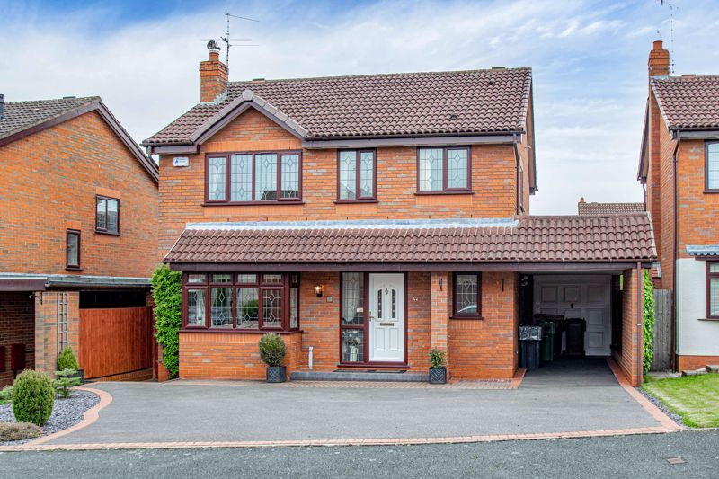 <br/><br/>A well-presented, four bedroom, detached house, occupying a sought after residential area in Lickey End, Bromsgrove.<br/><br/>The internal layout of the property briefly comprises; entrance hallway, giving access to the ground floor w.c.; well-proportioned lounge, with large box bay window to front and coal effect fire to surround; separate dining room; sizable rear conservatory. Delightful fitted kitchen, with built-in oven, gas hob, extractor hood over and access to a useful utility area with sink. <br/><br/>Upstairs the first floor landing gives over to; a master bedroom with fitted wardrobes and a generous en-suite shower room, double bedroom two with fitted wardrobes, good sized bedrooms three and four, while a house bathroom features a corner style bath with overhead shower, to complete the first floor.<br/><br/>Outside enjoys a beautifully maintained rear garden, being laid initially with a paved patio seating area to lawn with gravelled edges, well established shrubbery to borders and timber shed store. There is a gate leading round to the front aspect of the property benefitting from a large tarmacked driveway and carport to garage access.<br/><br/>Further benefits include double glazing, house alarm with sensors on all windows and remote panic button, Hive smart heating, fast fiber broadband available, replaced central heating boiler (approx 2019), and a  majority boarded loft space with pull down ladder and fixed lighting. <br/><br/>The property occupies and prime position in Lickey End, sought after for its close proximity to popular first school, garden centre, local park, main arterial routes to both the M5/M42 motorway, reachable into Bromsgrove town centre for further shops, bars, restaurants and leisure facilities.