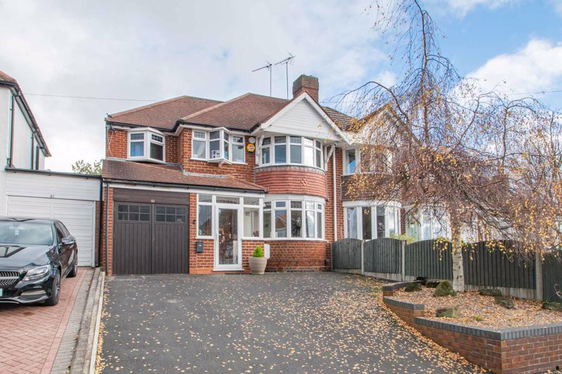 This five bed semi detached house, located in Lapal, Halesowen.<br/><br/>The property in brief: Entrance hall, spacious lounge with bay window, sitting room with fireplace and a door leading to the conservatory. Following on is the kitchen/breakfast room, which offers an integrated electric hob, double oven and dishwasher, as well as space for two fridge/freezers. There is a lobby area to the end of the kitchen which makes an ideal storage space. The conservatory follows on from the kitchen, and is generous in size. Next to the conservatory is the utility room offering space for a washing machine and tumble dryer, followed on by the recently refitted shower room. Throughout the downstairs, the Karndean flooring has been preserved underneath the carpet, offering the option for hard flooring throughout. <br/><br/>Upstairs: Double bedroom one benefits from fitted wardrobes and a bay window. Double bedroom two also has a fitted wardrobe with a sliding door. There is a another double bedroom three, and a further two well-proportioned bedrooms. The family bathroom is generous in size, and also offers a bidet. <br/><br/>Further benefits of this property include rewiring throughout and a new boiler.<br/><br/>Outside: The rear garden ahs been landscaped, and offers a patio area followed on by a large lawn space. To the front is a driveway with parking for two cars.<br/><br/>This property is within close proximity to junction three of the M5, providing commuting routes to Birmingham and further. There are additional road links to Birmingham and Halesowen. For families, there is local schooling for all ages, including nurseries, and local parks. There are shops and amenities to hand, with further shops and supermarkets being accessed in Halesowen.